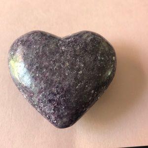 Other - Lepidolite heart